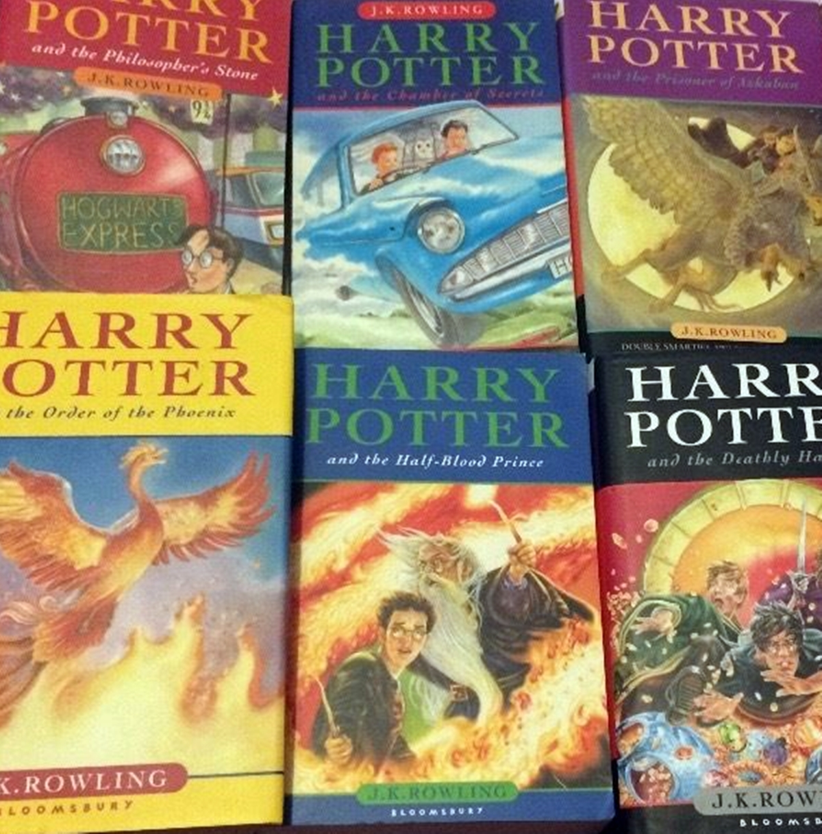 2 41 Are Your Harry Potter Books Worth A Lot Of Money? Here's How To Find Out!