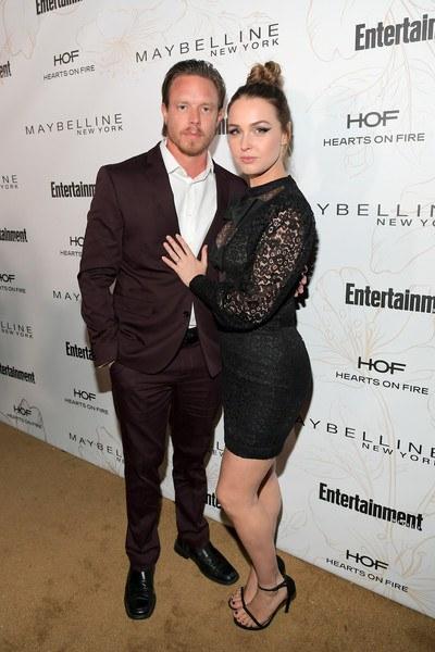 Grey's Anatomy Star Camilla Luddington with her real-life partner Matthew Alan