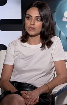 220px Mila Kunis 2018 cropped 42 Never Before Seen Photographs Of Mila Kunis