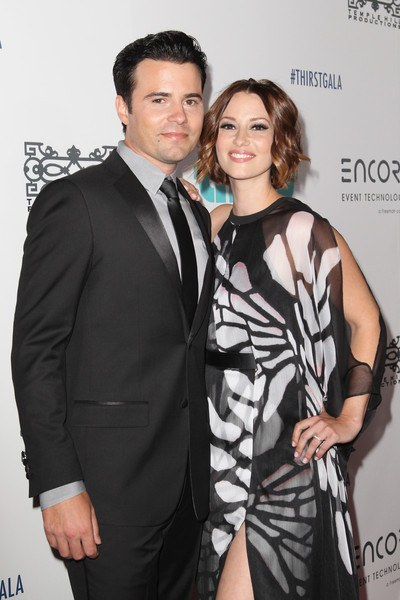Grey's Anatomy Star Chyler Leigh with her real-life partner Nathan West