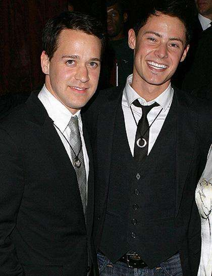 Grey's Anatomy Star T.R. Knight with his real-life partner Patrick Leahy