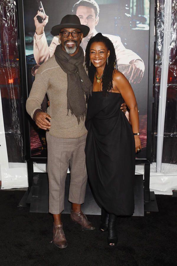 Grey's Anatomy Star Isaiah Washington with his real-life partner Jenisa Garland