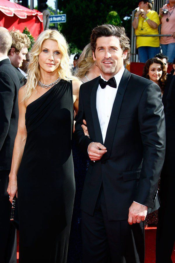Grey's Anatomy Star Patrick Dempsey with his real-life partner Jillian Fink