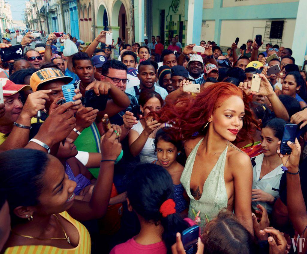 560e8deddd0e7ddf17bcdea2 rihanna november 2015 cover annie leibovitz vf 04 20 Things You Didn't Know About Rihanna