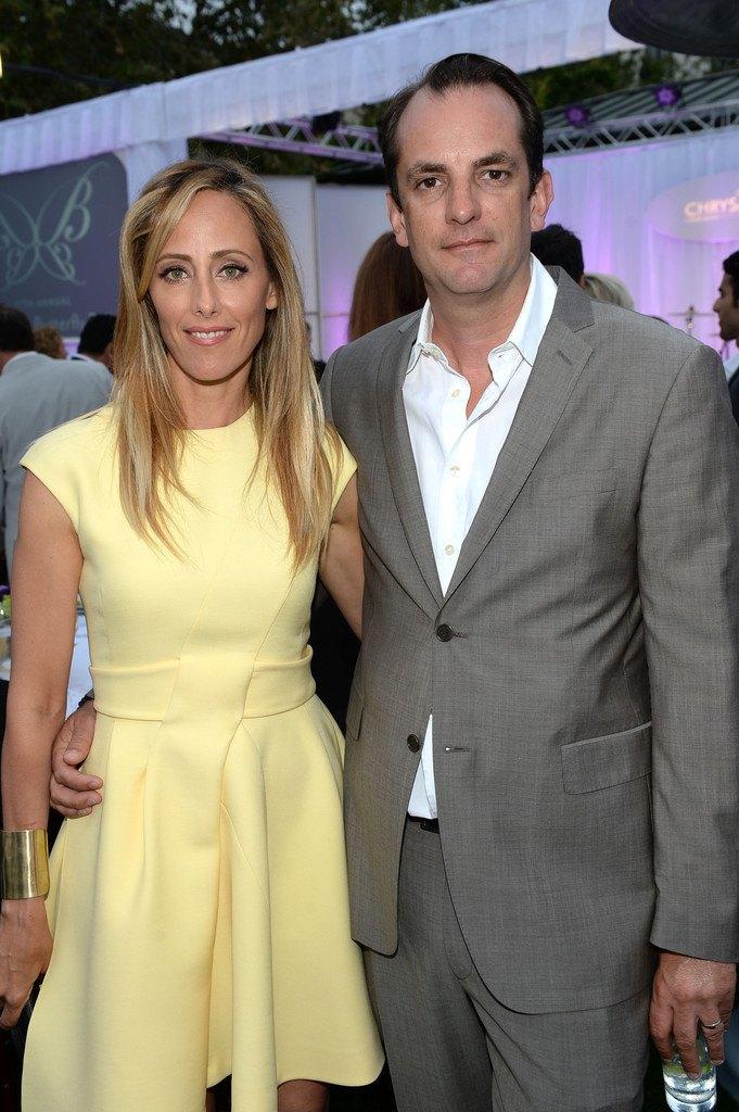 Grey's Anatomy Star Kim Raver with her real-life partner Manuel Boyer