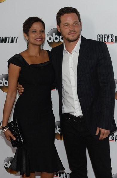 Grey's Anatomy Star Justin Chambers with his real-life partner Keisha