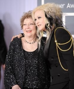 Cyndi Lauper and her mother Catrine Lauper