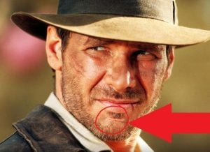 AUCTUS DIGITAL HARRISON FORD CHIN SCAR 10 Things You Didn't Know About Harrison Ford