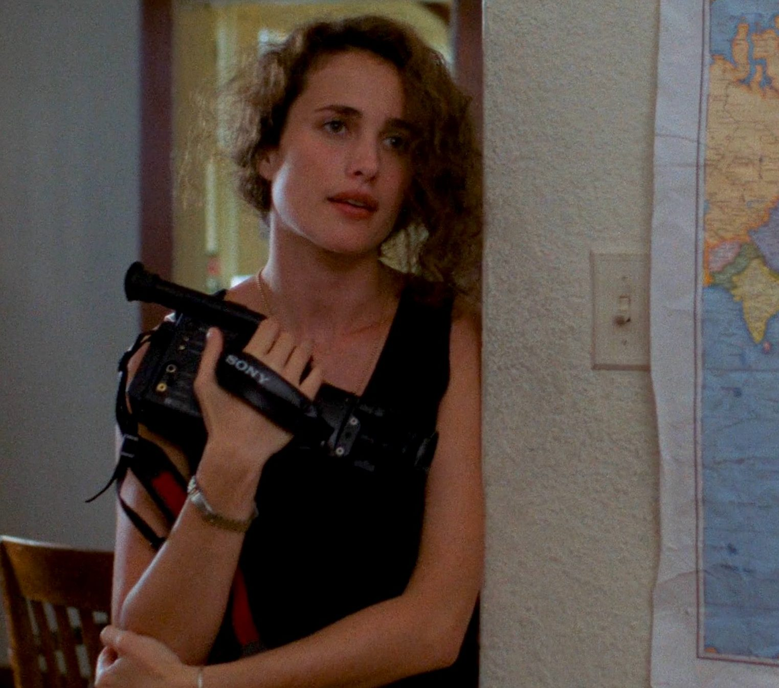 Andie MacDowell in sex lies and videotape 1 e1617178107735 20 Facts About St Elmo's Fire That Are Absolute Scorchers