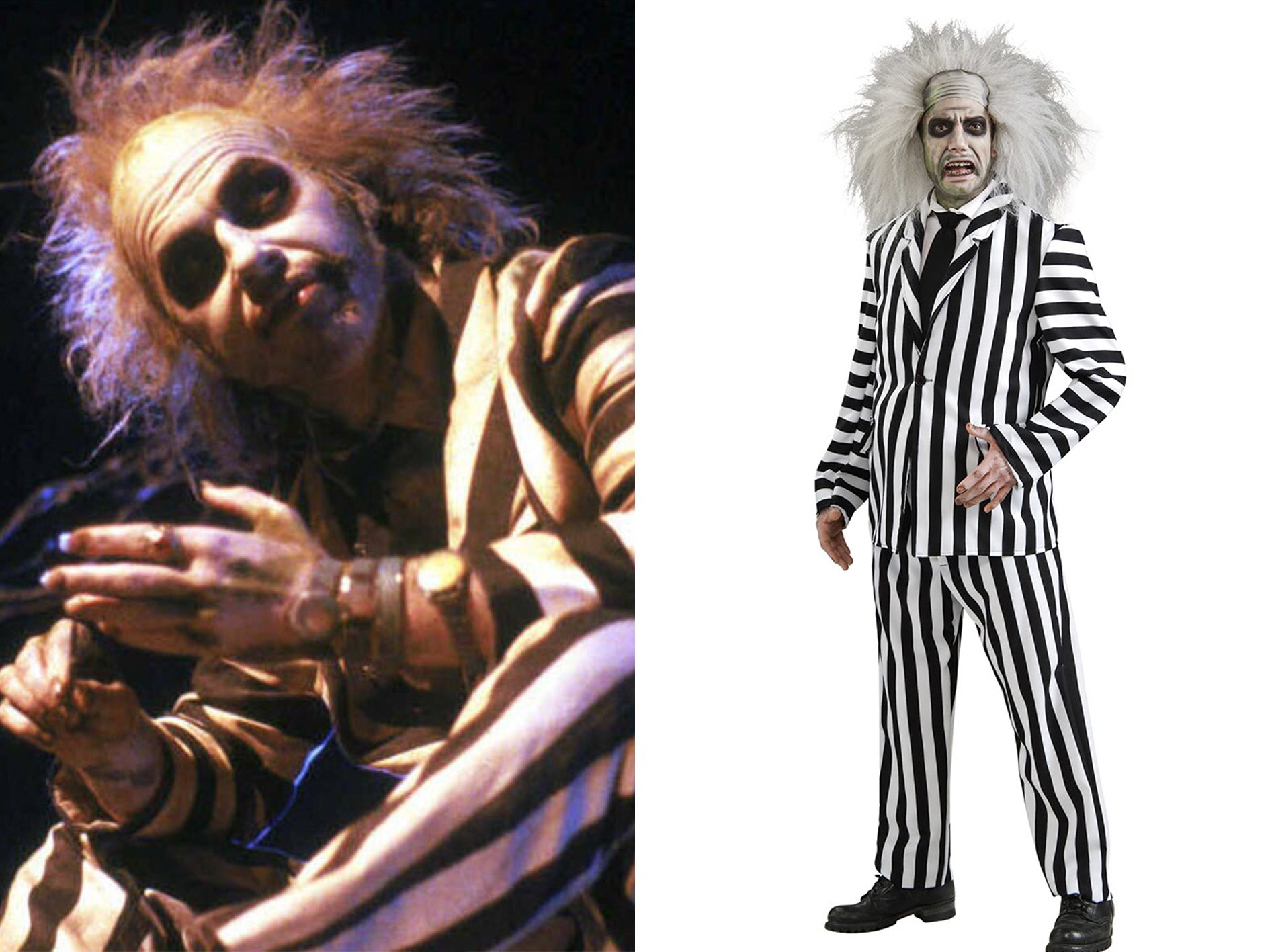 Beetlejuice 15 Halloween Costumes Inspired By The 80s - Who Will You Go As?