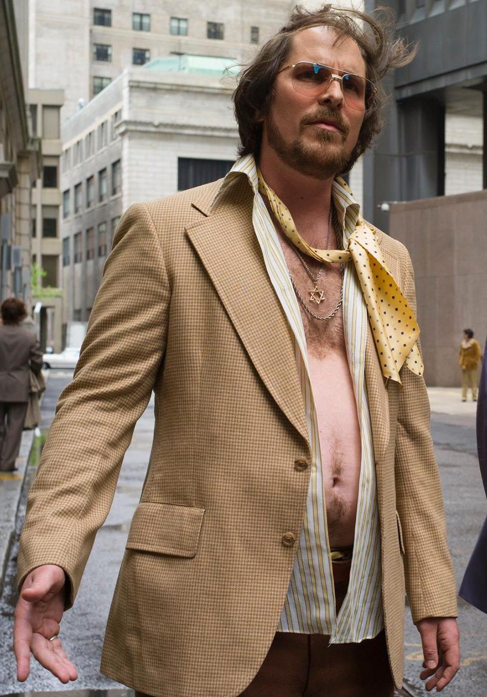 Christian Bale American Hustle fat3 25 Things You Didn't Know About The Dark Knight Rises