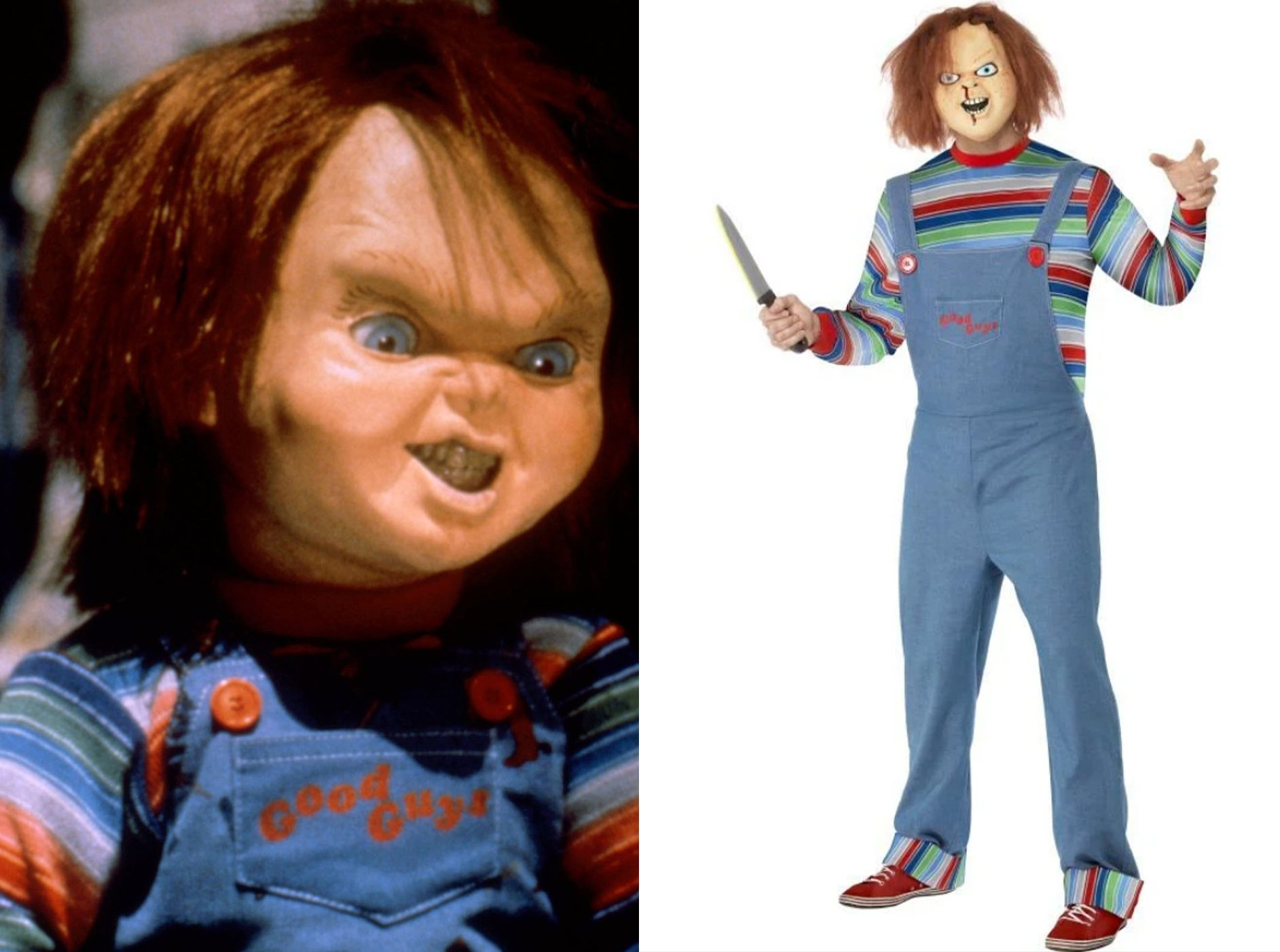 Chucky e1634910155594 15 Halloween Costumes Inspired By The 80s - Who Will You Go As?