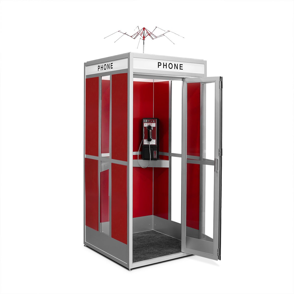 Cubicall Bill Ted PhoneBooth a open 25 Totally Non-Heinous Facts About Bill & Ted's Excellent Adventure!