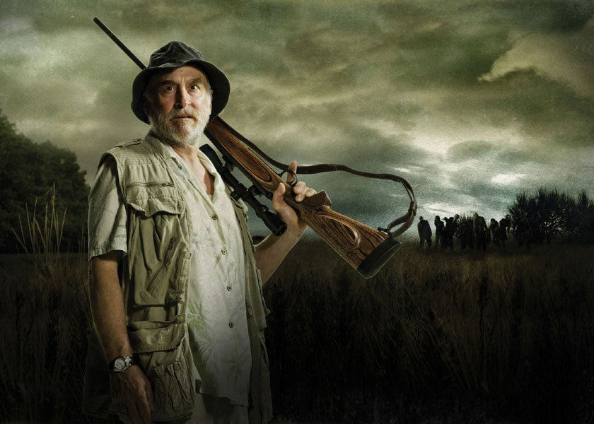 Dale 10 Things You Didn't Know About The Walking Dead