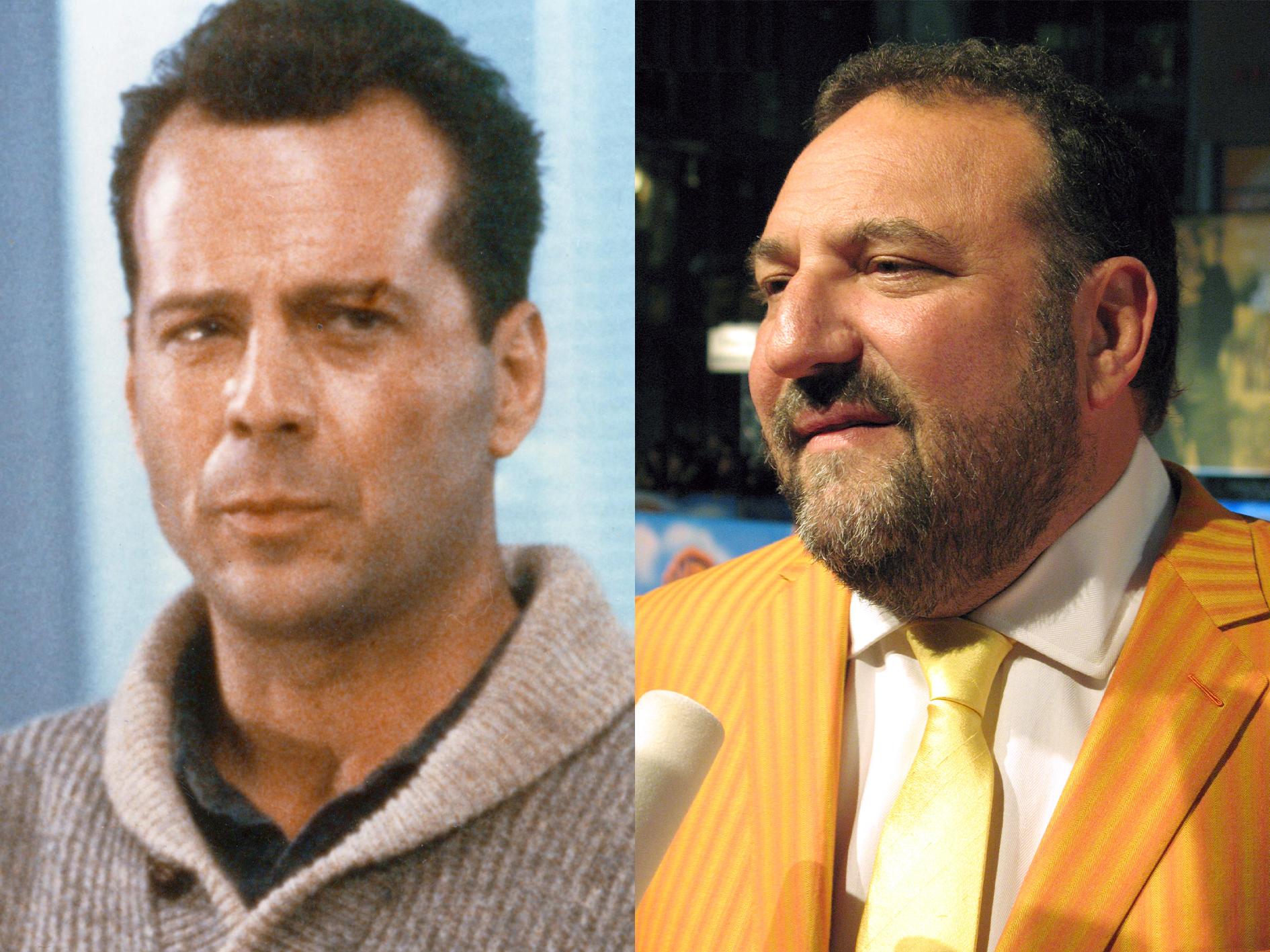Die Hard 2 Bruce Willis Joel Silver 10 Explosive Facts You Never Knew About Die Hard 2: Die Harder