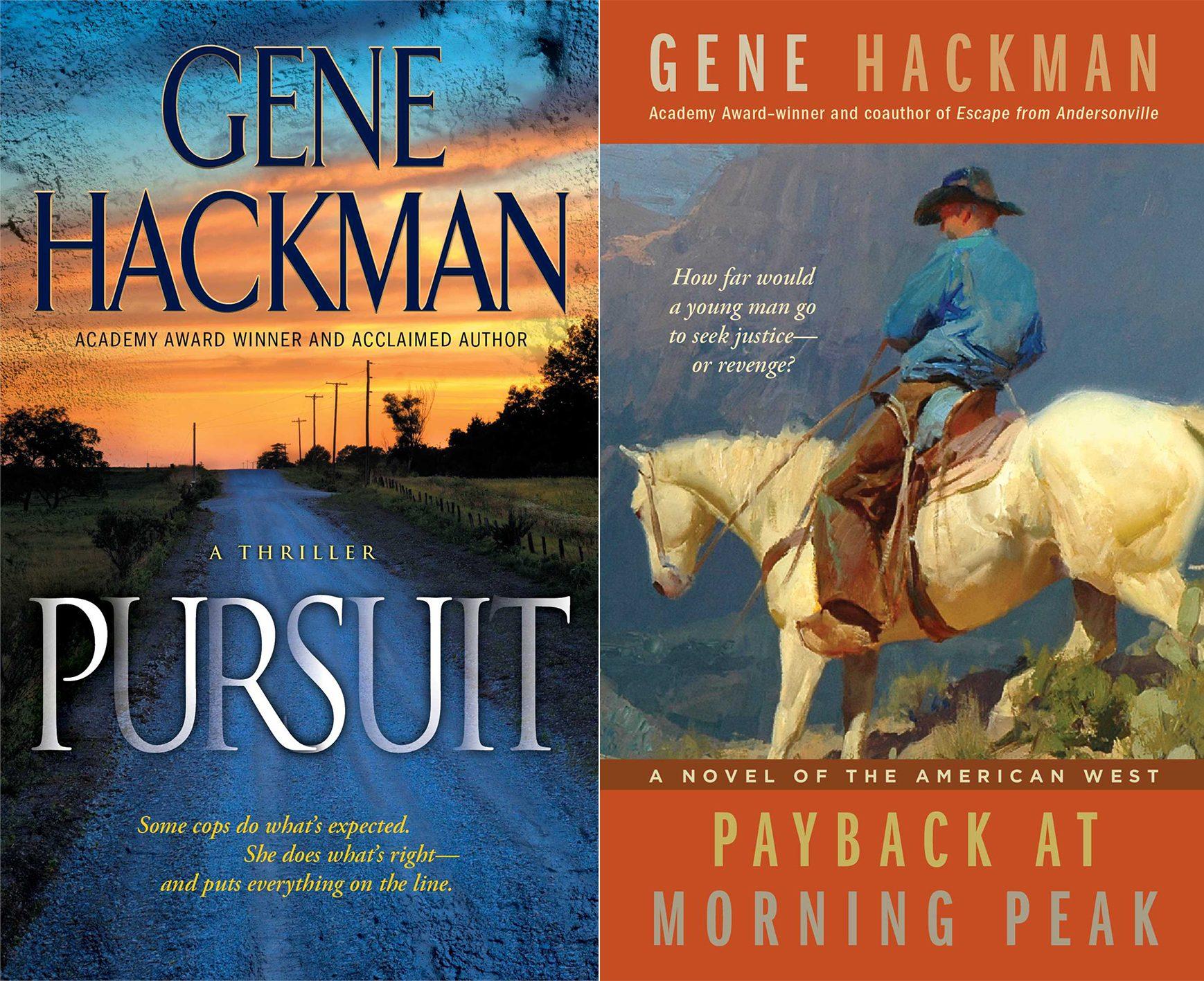Gene Hackman Novels e1626777123701 23 Celebrities Who Now Have 'Normal' Jobs