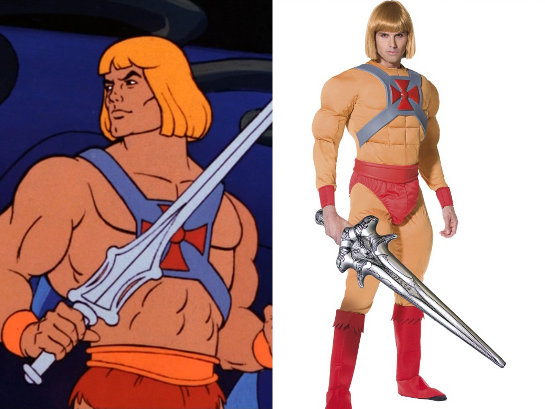 He Man 15 Halloween Costumes Inspired By The 80s - Who Will You Go As?