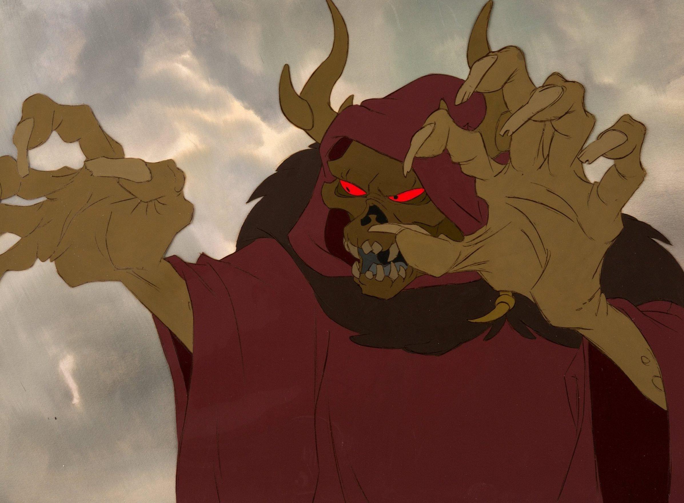 Horned King Black Cauldron scaled e1631869970243 The Black Cauldron: 20 Facts About Disney's Biggest Box Office Bomb