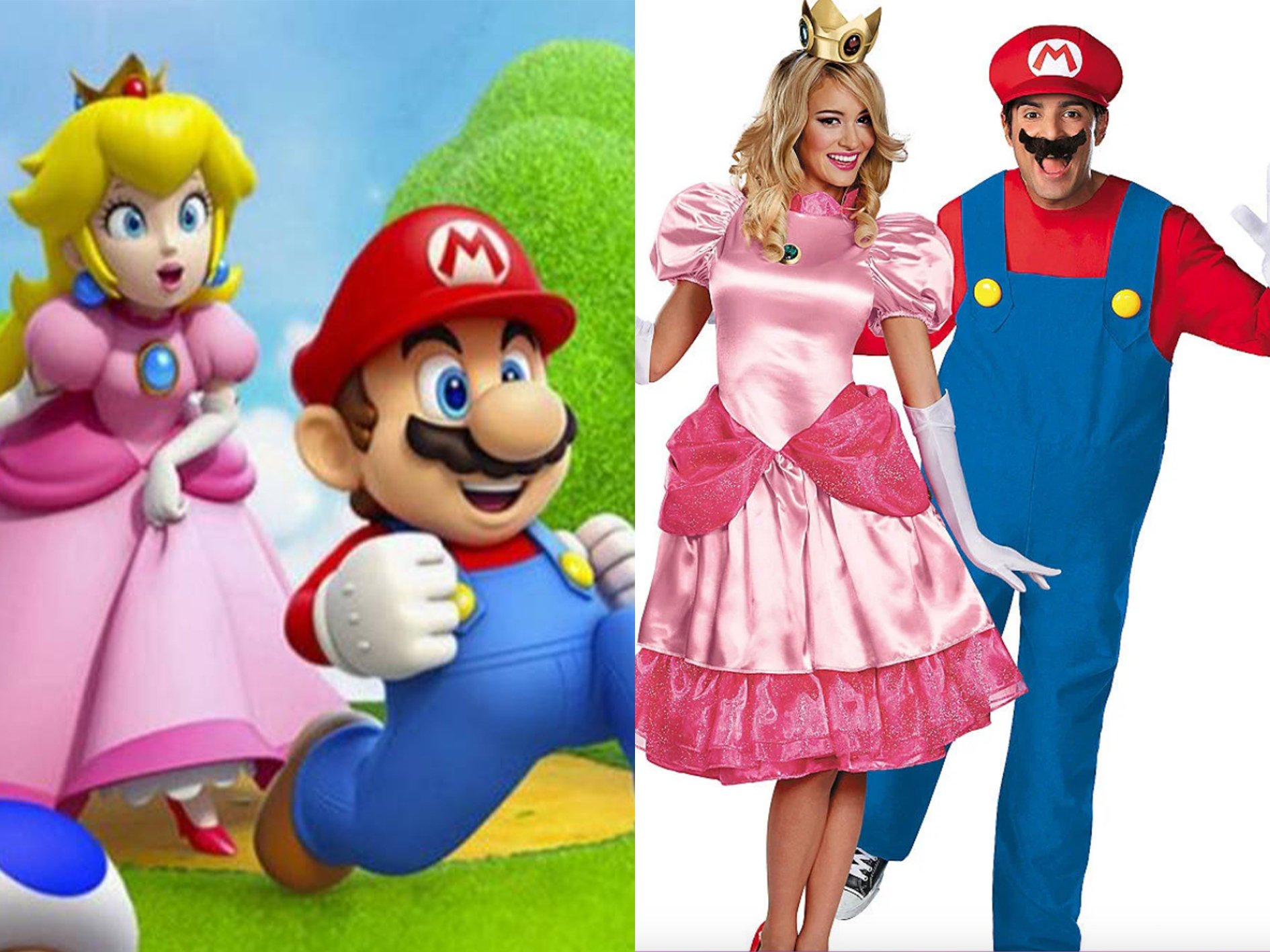 MARIO AND PEACH 15 Halloween Costumes Inspired By The 80s - Who Will You Go As?