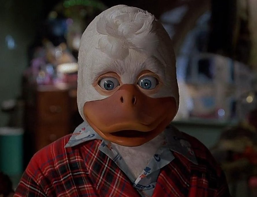 MV5BZjM2NzA2NTYtNTkwYy00MzY0LWIwOTQtZTgzMjQ1NDZjNGI1XkEyXkFqcGdeQXVyNzc5NjM0NA@@. V1 e1628769272262 These 10 Facts About Howard The Duck Are Quackers