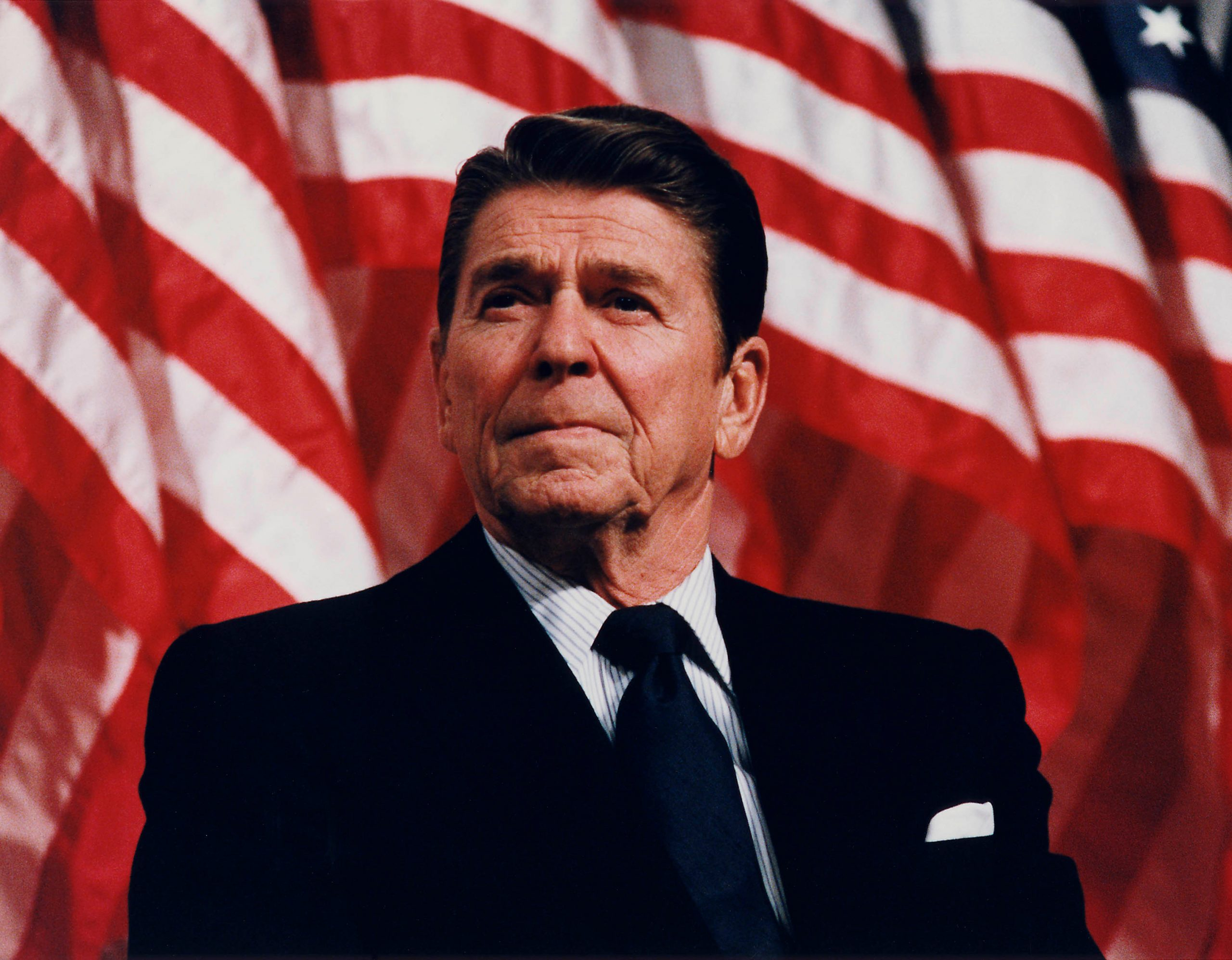 President Reagan speaking in Minneapolis 1982 scaled 11 Of The Most Influential People Of The 1980s
