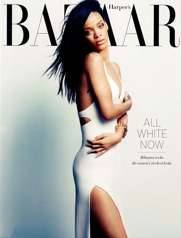 Rihanna Covers Harper Bazaar August 2012 20 Things You Didn't Know About Rihanna