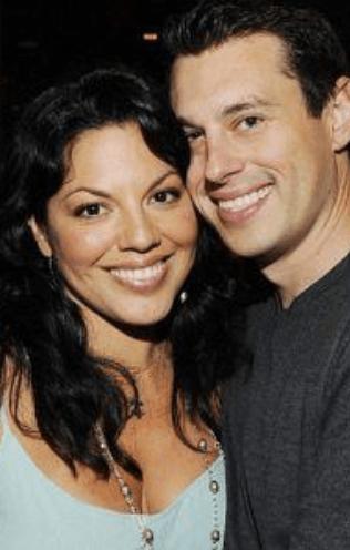 Grey's Anatomy Star Sara Ramirez with her real-life partner Ryan DeBolt