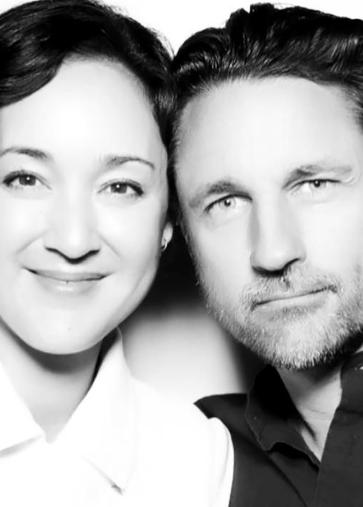 Grey's Anatomy Star Martin Henderson with his real-life partner Helen Randang