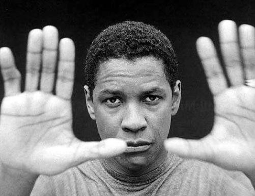 Denzel Washington crooked pinky finger