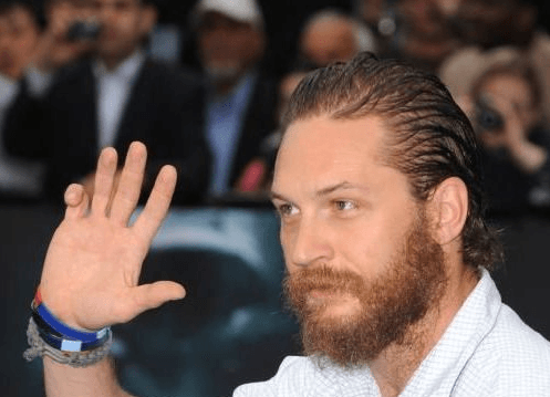 Tom Hardy Curled Finger