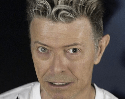 David Bowie Dilated Pupil