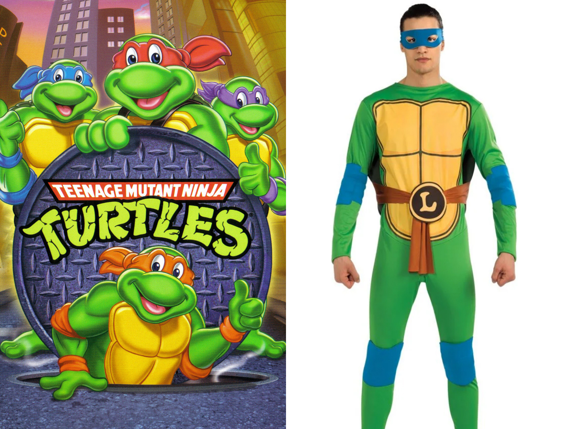 Turtles 1 15 Halloween Costumes Inspired By The 80s - Who Will You Go As?