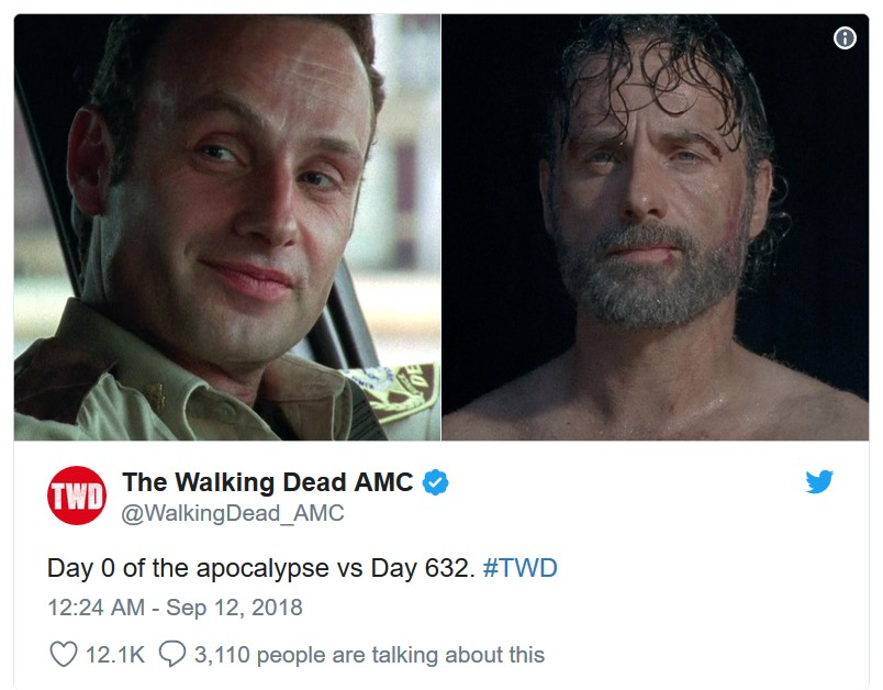 Tweet 10 Things You Didn't Know About The Walking Dead