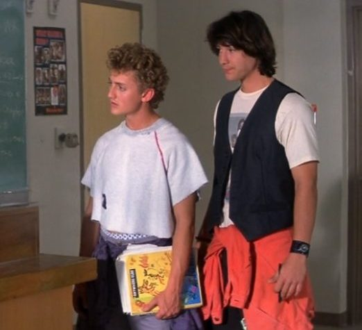 ZQVRANr 1 e1616516951202 25 Totally Non-Heinous Facts About Bill & Ted's Excellent Adventure!