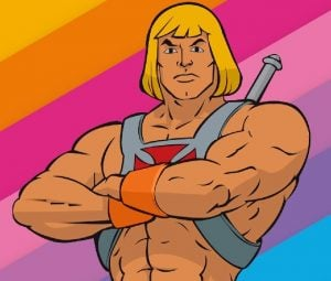 auctus digital he man 1 The Top 10 Worst/Best Men's Hairstyles of the 80s