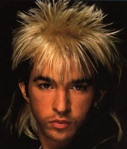 auctus digital limahl 1 The Top 10 Worst/Best Men's Hairstyles of the 80s