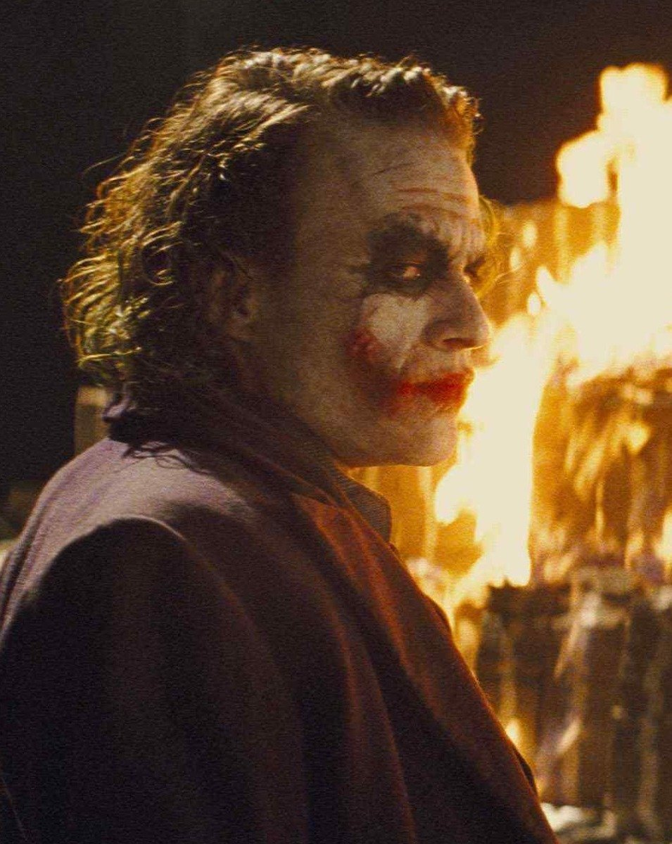 batman joker the dark knight movies night fire 1080P wallpaper 25 Things You Didn't Know About The Dark Knight Rises