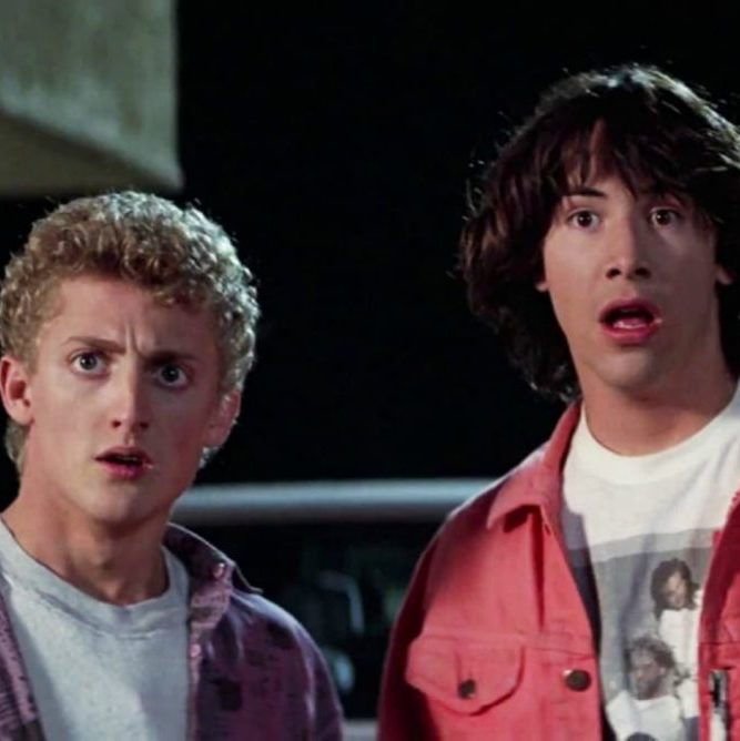 bill and ted 3 keanu reeves orion 1068x668 1 25 Totally Non-Heinous Facts About Bill & Ted's Excellent Adventure!