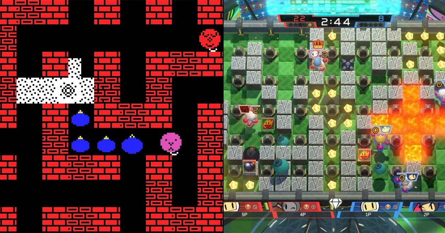 bomberman then now Amazing 1980s Video Game Franchises That Are Still Going Strong Today