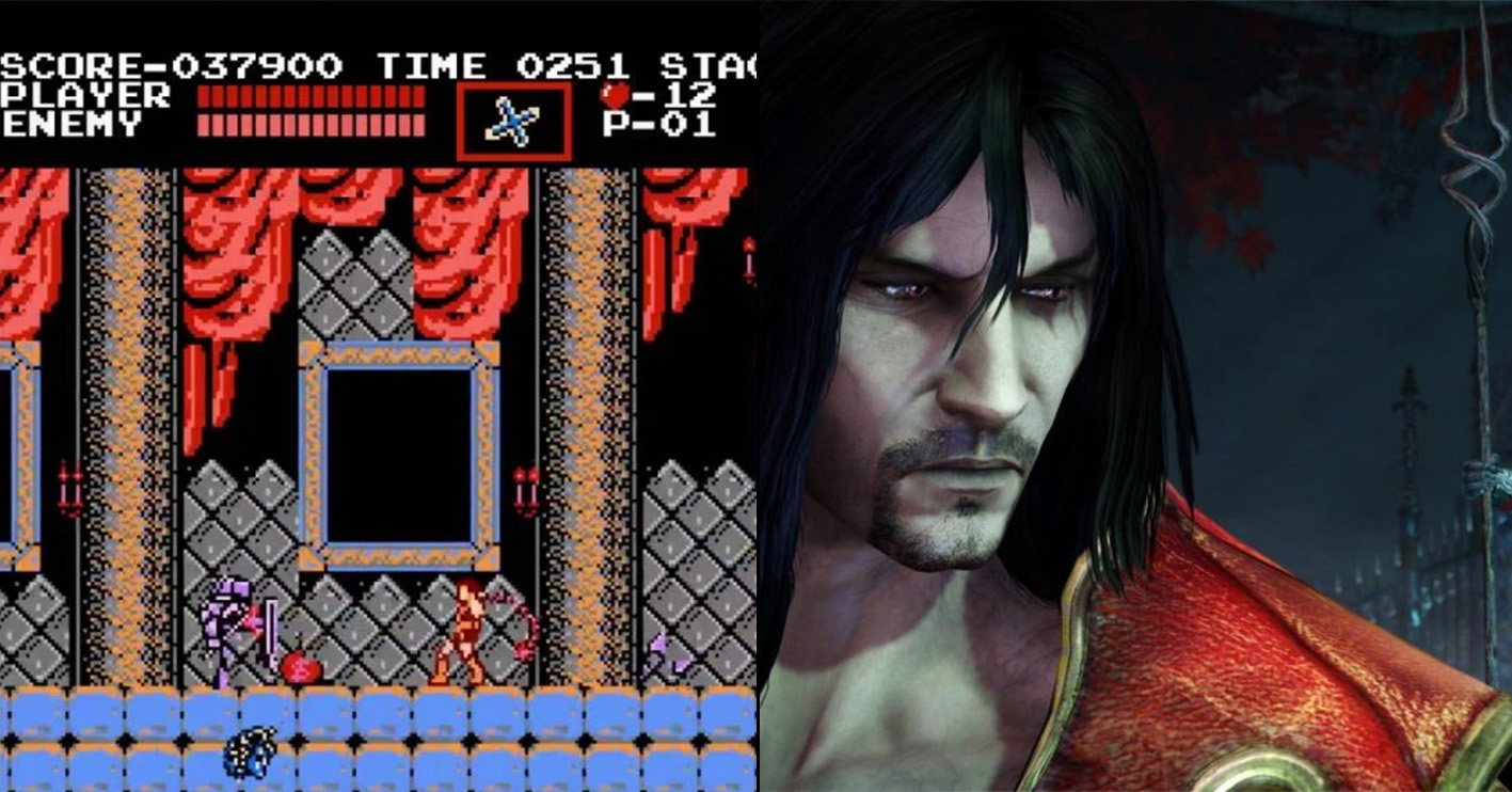 castlevania then and now Amazing 1980s Video Game Franchises That Are Still Going Strong Today