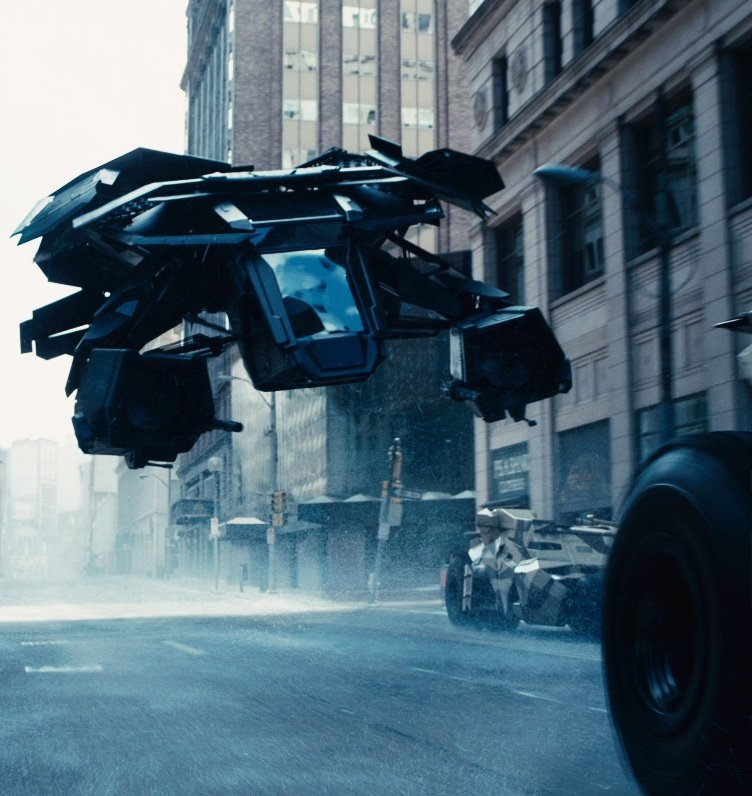 dark knight rises bat batwing 25 Things You Didn't Know About The Dark Knight Rises