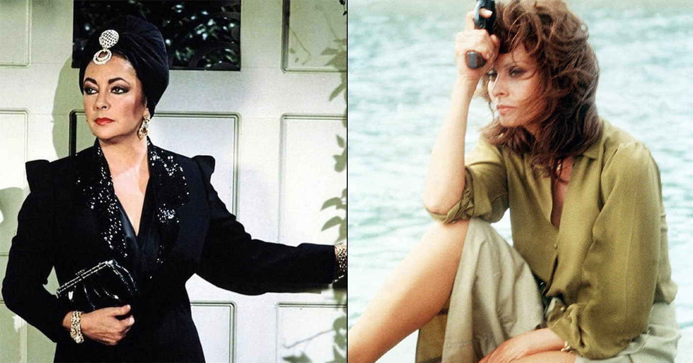 elizabeth taylor general hospital sofia loren firepower 12 Fascinating Facts You Never Knew About Dynasty