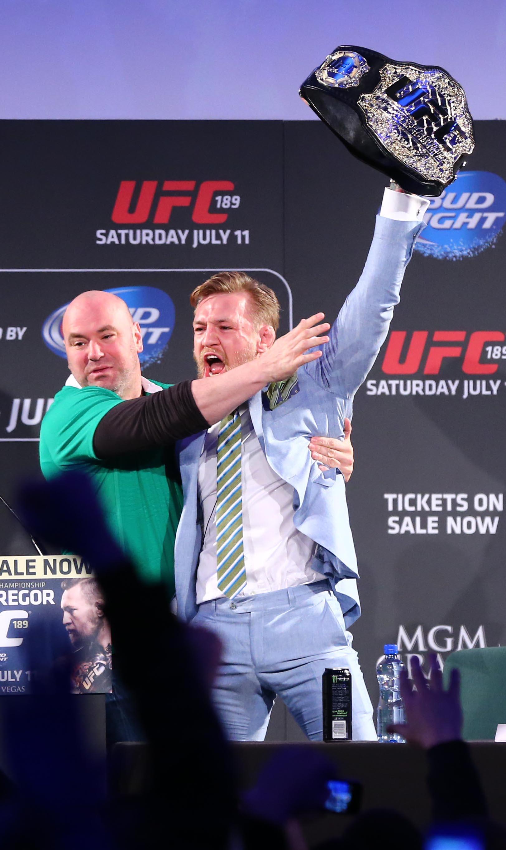 inpho 00916361 20 Craziest Conor McGregor Moments