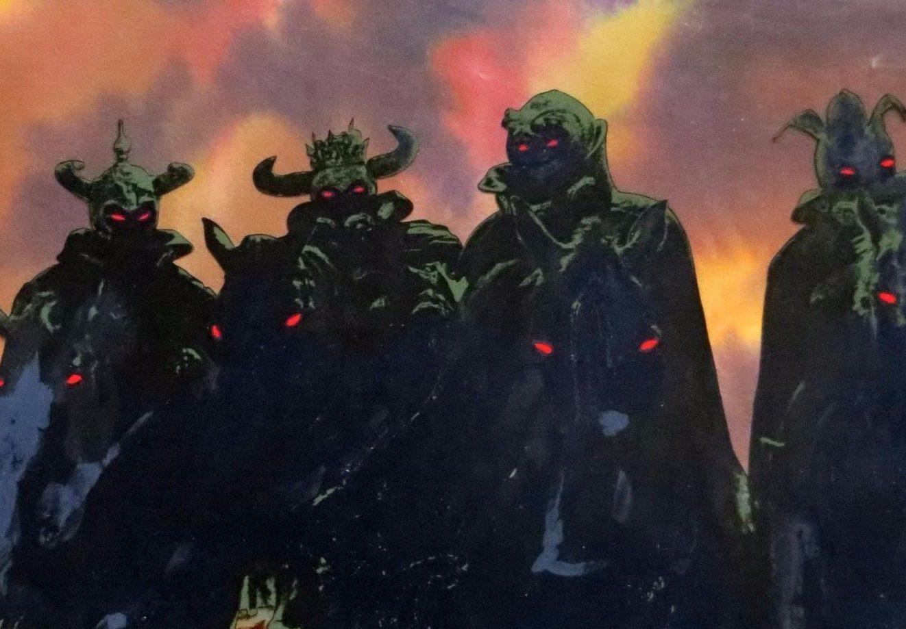 lord rings art original ralph bakshi 1 b875b23f4b4b493523277a69eaacbf10 e1629896055816 The Black Cauldron: 20 Facts About Disney's Biggest Box Office Bomb