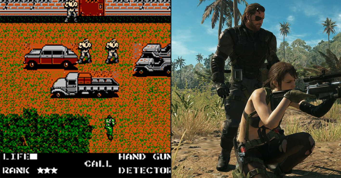metal gear then and now Amazing 1980s Video Game Franchises That Are Still Going Strong Today