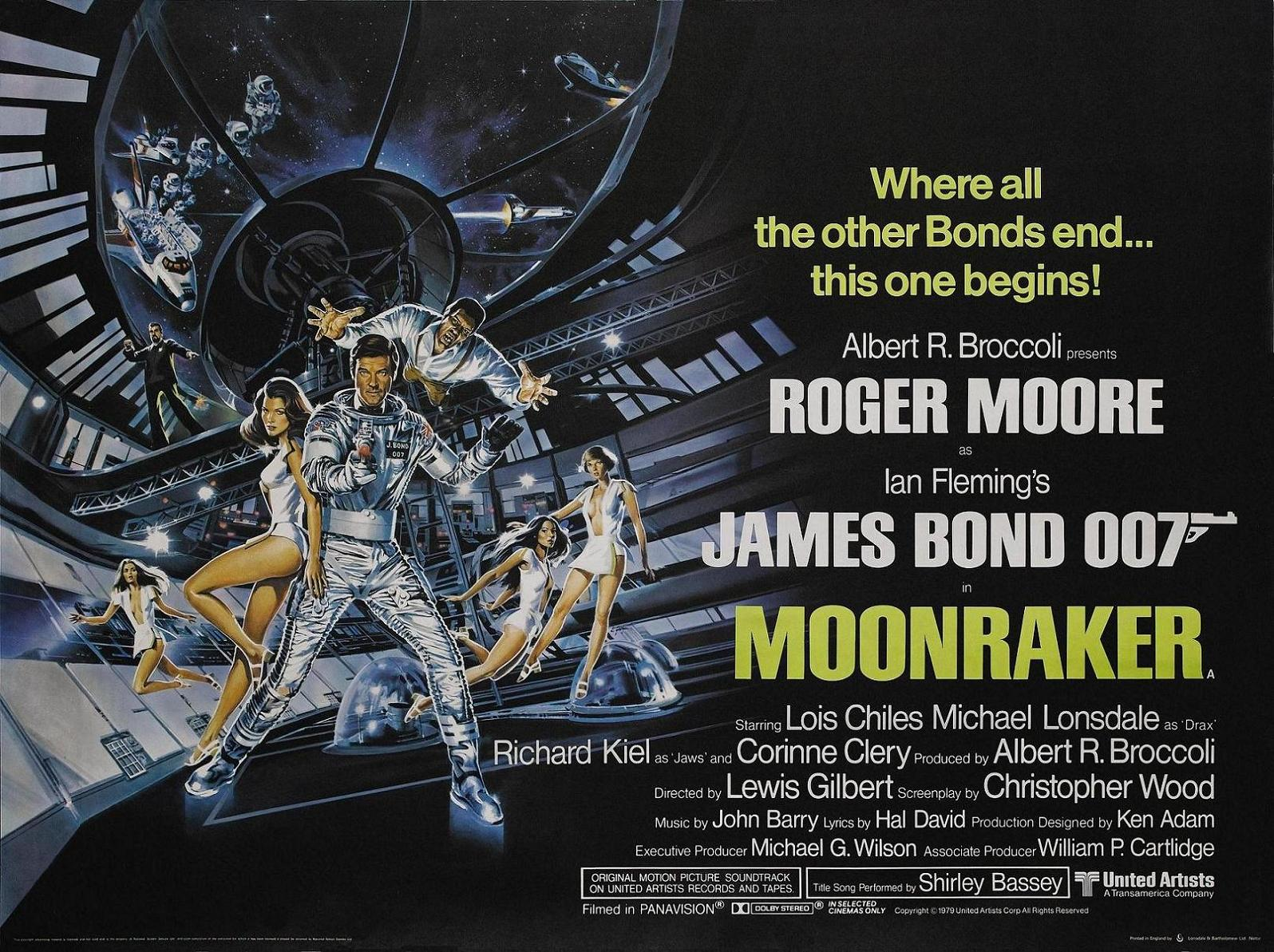 moonraker quad uk poster 30 Things You Probably Didn't Know About The James Bond Films