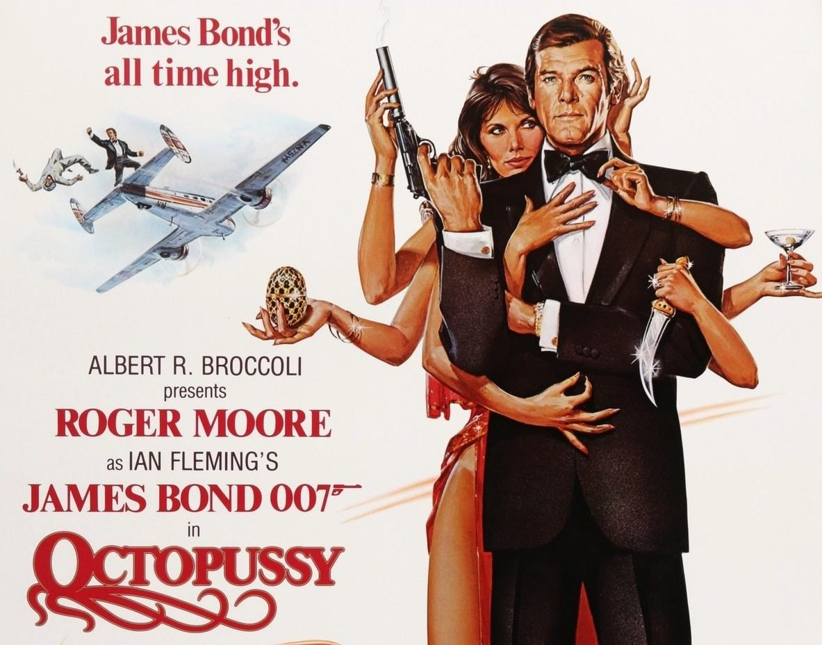 octopussy 1983 original film art f 5000x e1615378606266 30 Things You Probably Didn't Know About The James Bond Films