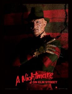 plastic frame a nightmare on elm street freddy krueger i51239 The UK's Most-Watched Halloween Movie Has Just Been Revealed