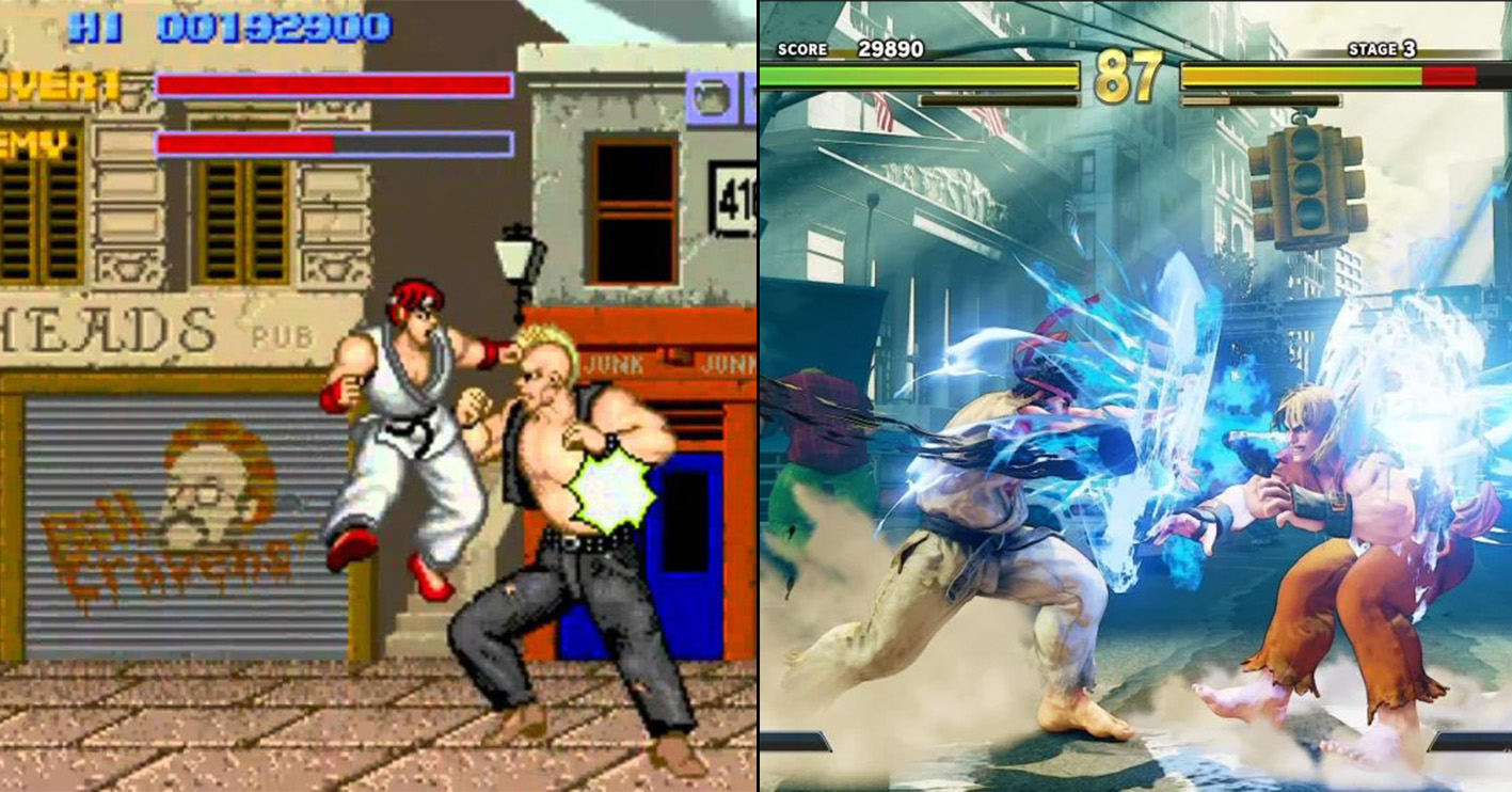 street fight then now Amazing 1980s Video Game Franchises That Are Still Going Strong Today