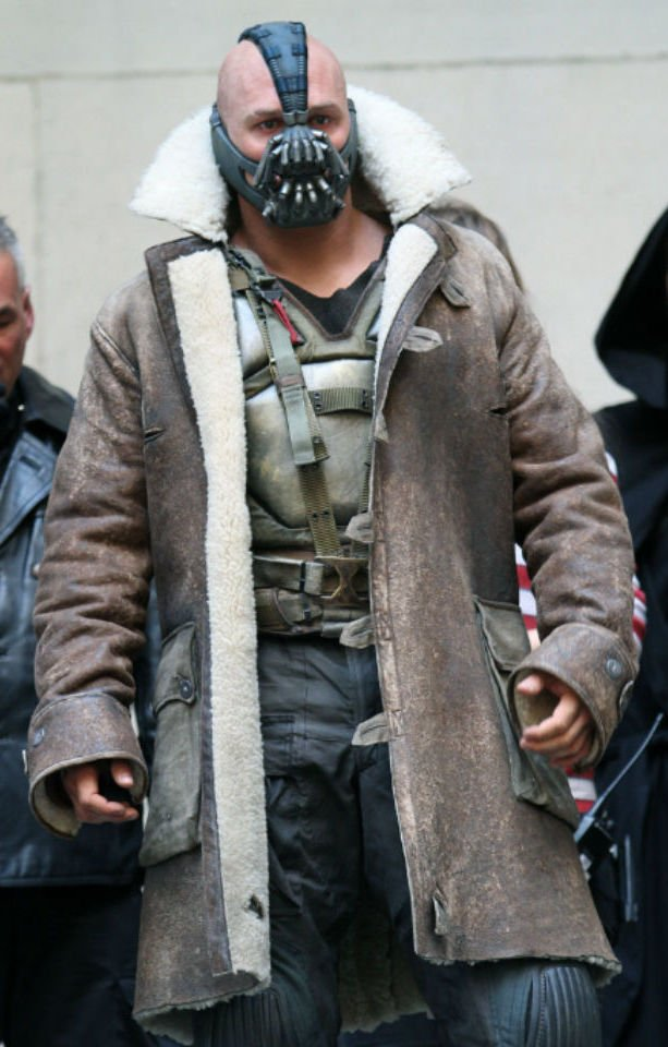 tom hardy transformations 1 bane 25 Things You Didn't Know About The Dark Knight Rises
